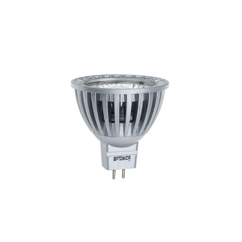GU5.3 LED Strahler 6W wie 50W COB Aluminium reflektor  Leuchte Neutralweiß A+